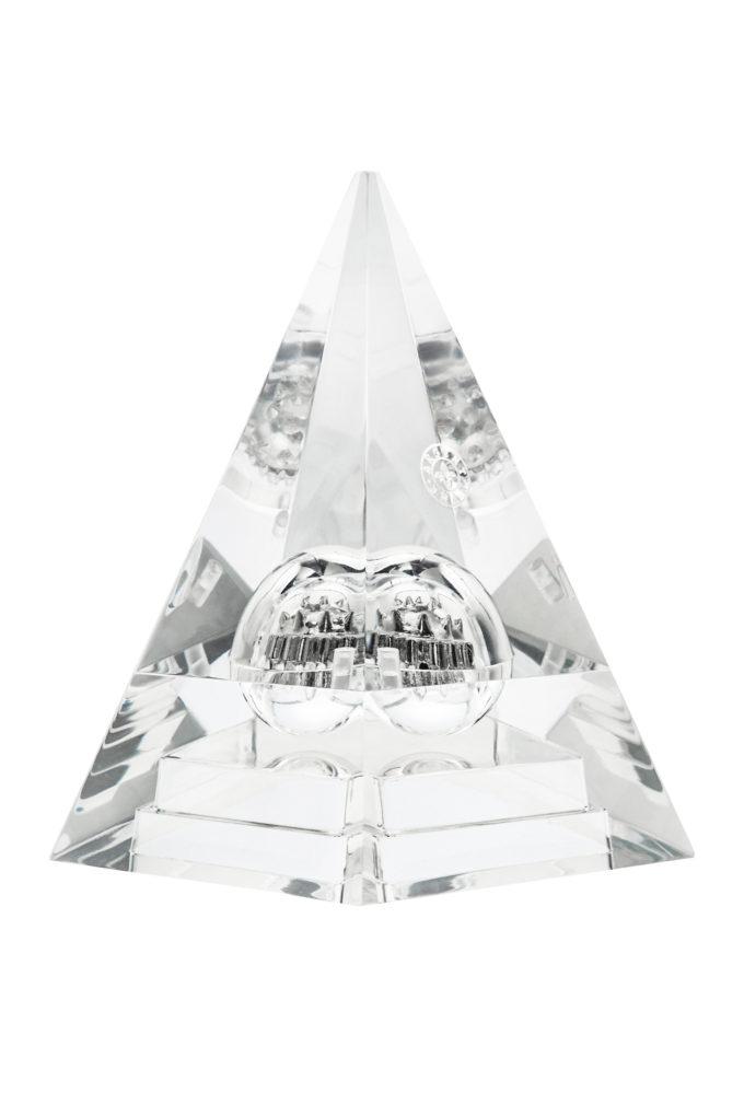 Кристальная пирамида и сферический массжер Z.Kudrina